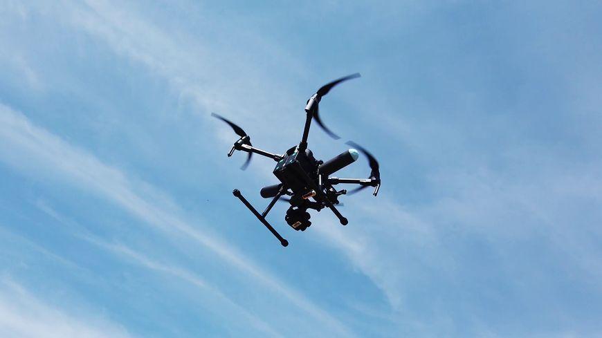 Les drones utilisés par les pompiers permettent un suivi global des interventions