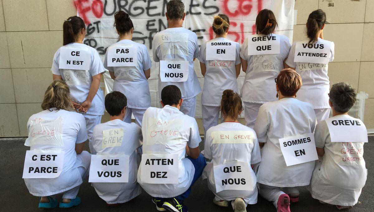 Clermont-Ferrand : le personnel des urgences du CHU toujours en grève