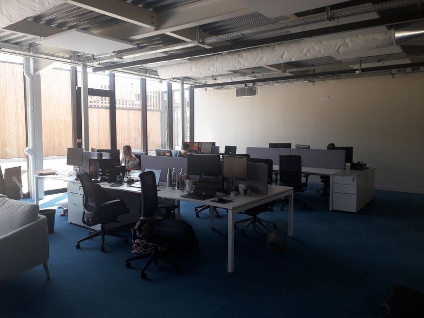 Des bureaux spacieux, c'est la volonté des dirigeants de la société Ledger