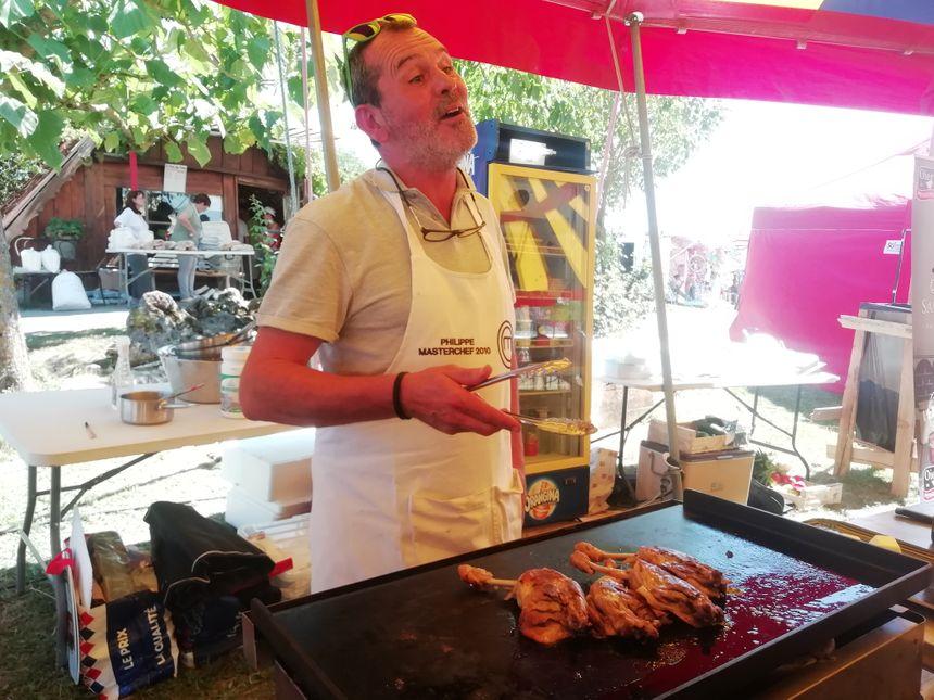 Le chef cuisinier Philippe de Masterchef est un habitué de la fête du pain