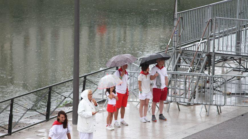 La pluie sur les Fêtes de Bayonne