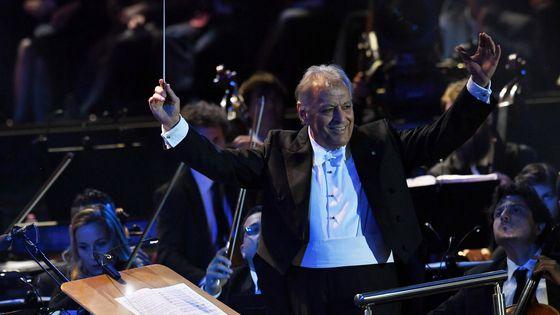 Le chef d'orchestre Zubin Mehta, à la tête de l'Orchestre philharmonique d'Israël, va passer la main.