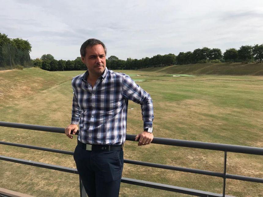 Alexis Maloubier, directeur du Golf Bluegreen
