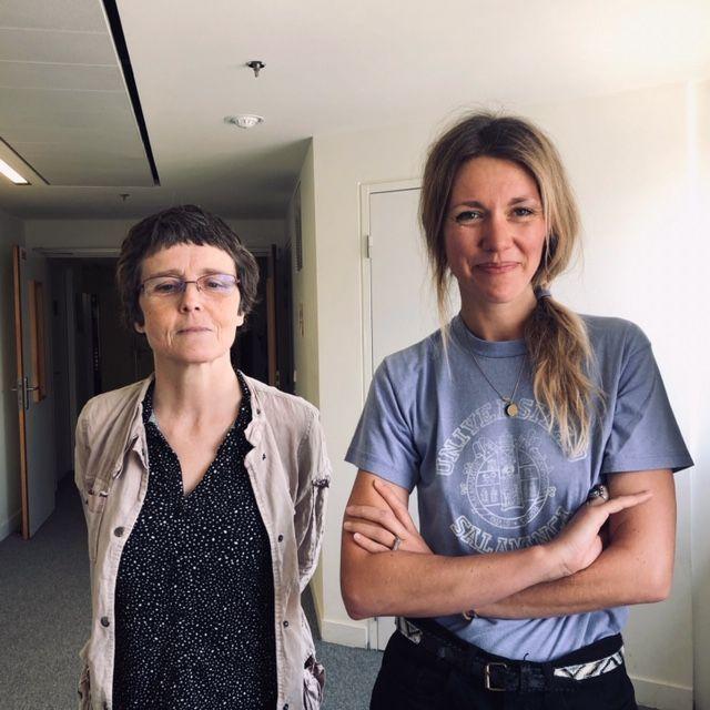 Claire Voisin, mathématicienne et et Lauren Bastide, journaliste dans le studio de France Inter.