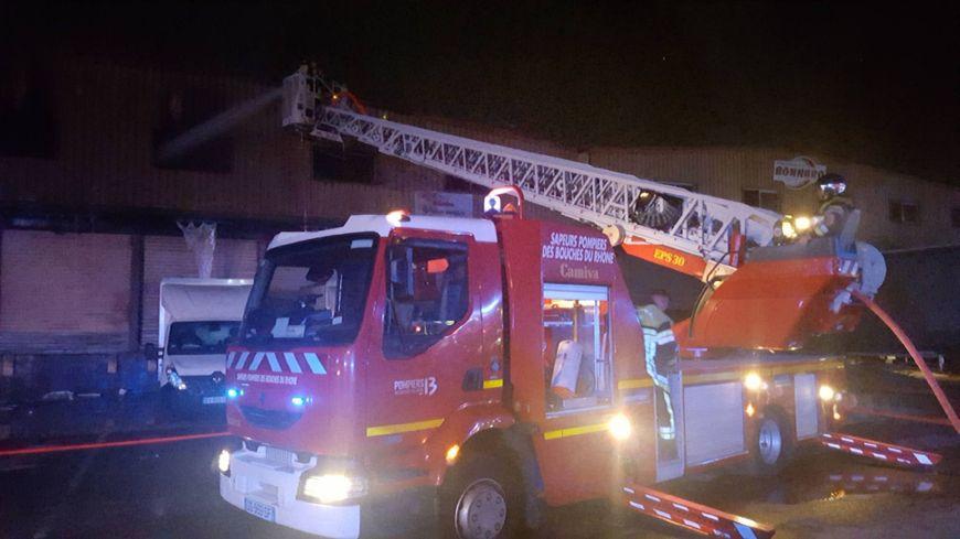 80 sapeurs pompiers sont intervenus sur l'incendie