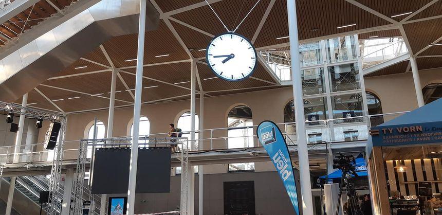 France Bleu Armorique en direct de la gare de Rennes