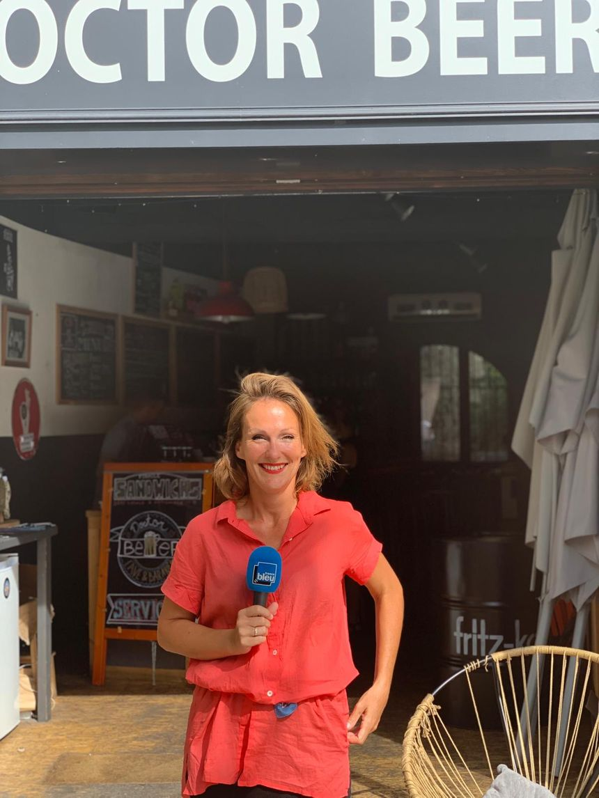 Charlotte Jugant, patronne de Doctor Beer