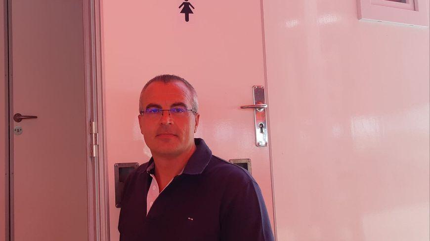 Dominique Islic responsable de la région Nord chez WC Loc