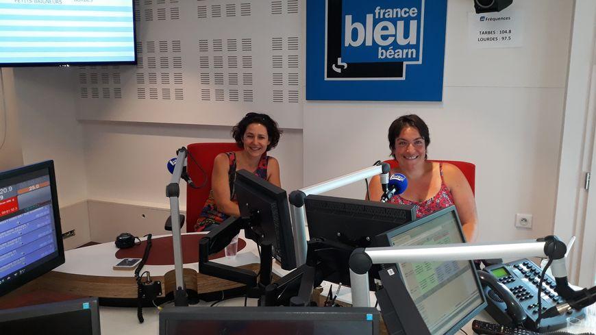 Héléne Chauvet et Emma Salanouve dans nos locaux