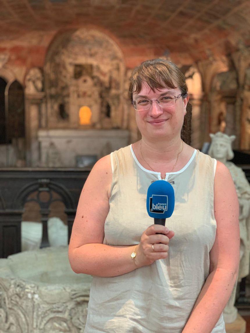 Sandrine Pierrette, responsable du patrimoine de la ville de Coulommiers