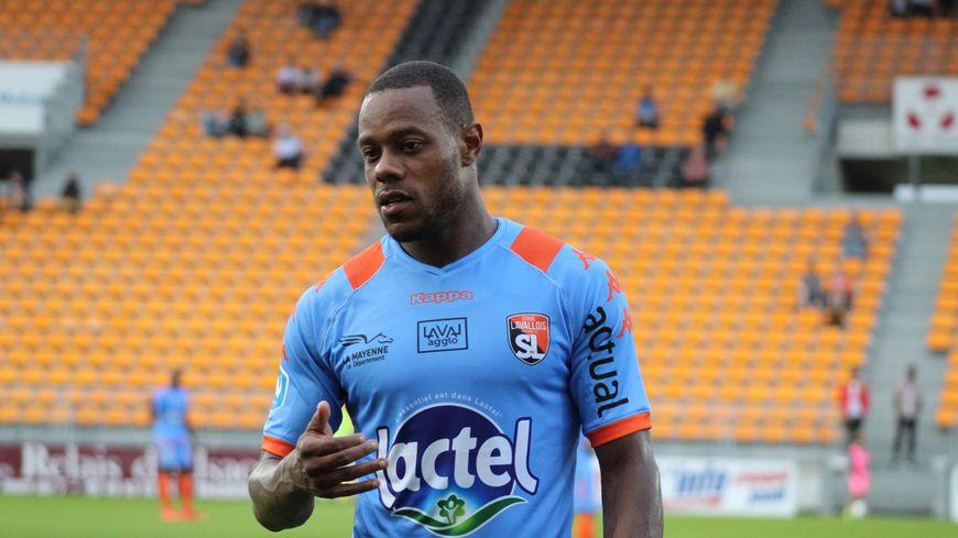 Grégory Gendrey, 32 ans, est l'un des nouveaux joueurs offensifs du Stade lavallois.