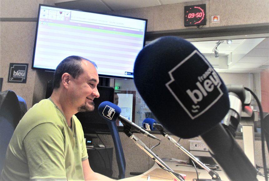 Lionel Desbordes, expert jardin de France Bleu Pays d'Auvergne