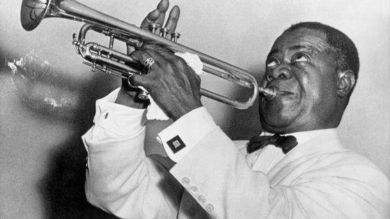 Louis Armstrong vers 1970
