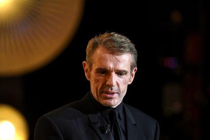 Lambert Wilson sur la scène de la 31e Cérémonie des Molières, le 13 mai 2019