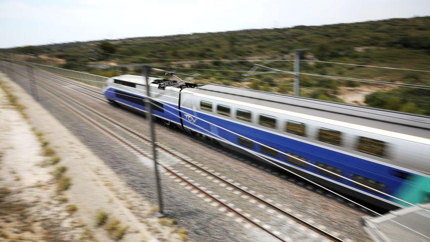 Le TGV a été bloqué en pleine voie pendant 4h30.