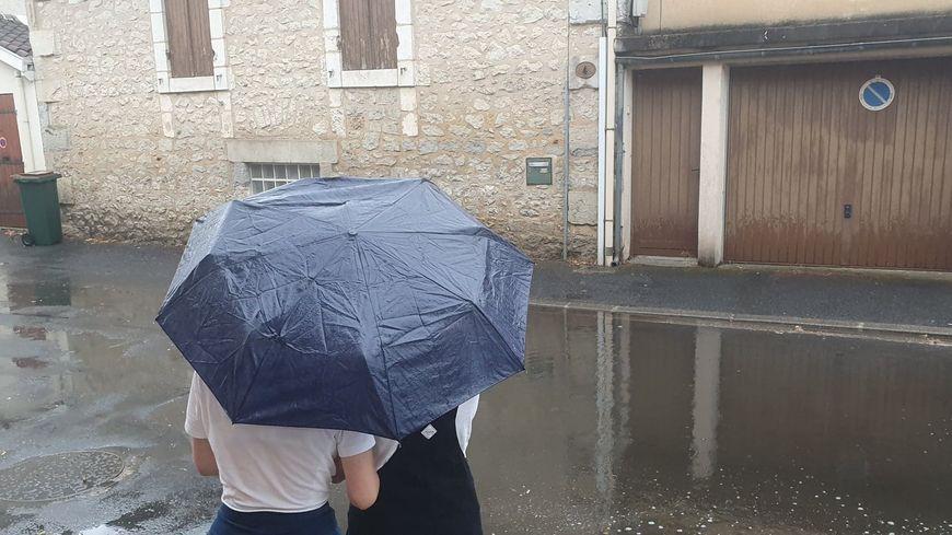 La pluie est de retour en Dordogne après quatre jours de canicule
