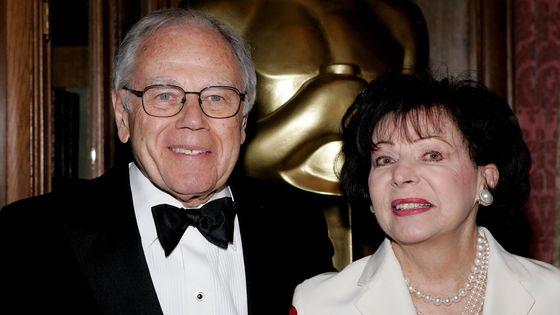 Sid Ramin et son épouse à la cérémonie des Oscars en 2006