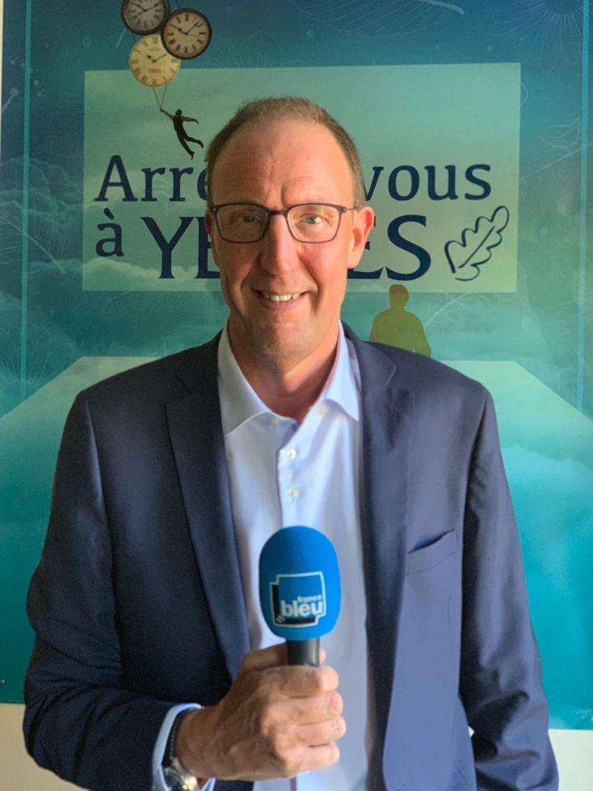 Olivier Claudong, maire de la ville de Yerres