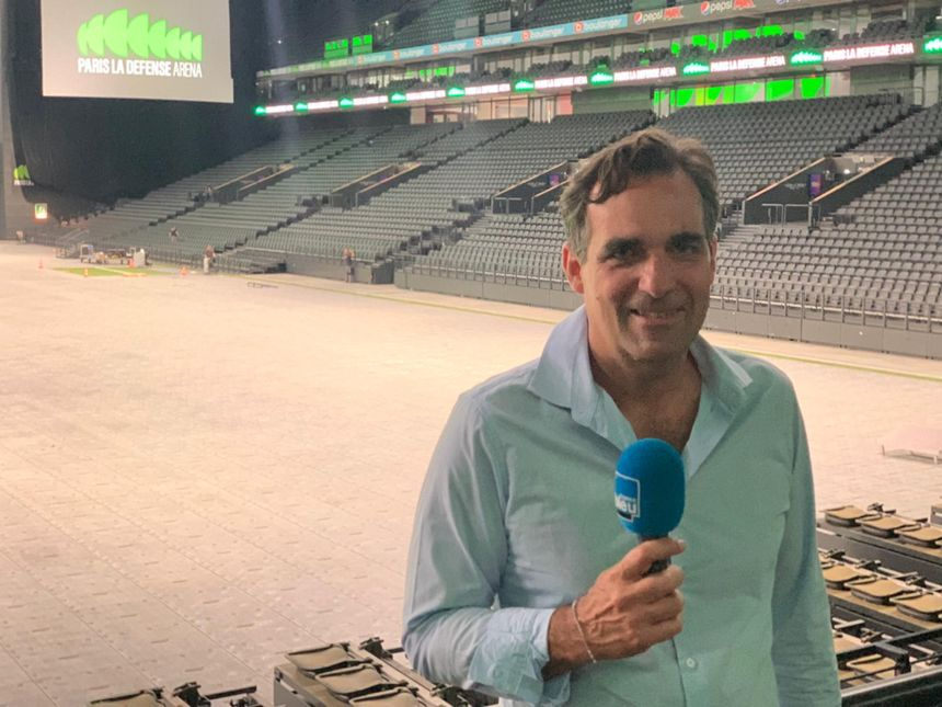 Damien Rajot, directeur général de Paris La Défense Arena