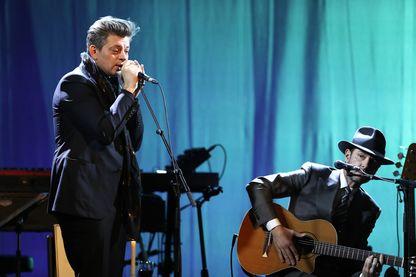 Benjamin Biolay & Melvil Poupaud en concert
