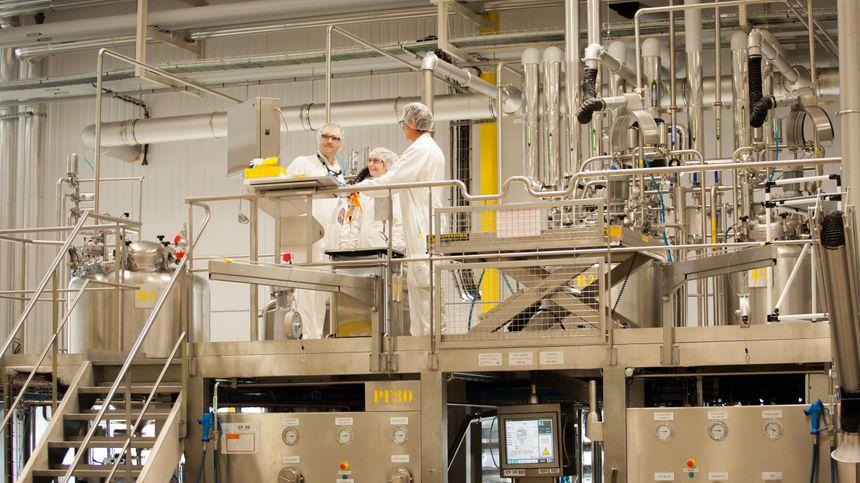 L'usine l'Oréal de Vichy emploie près de 400 personnes.