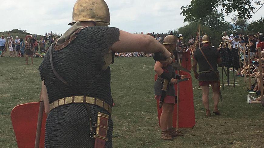 Les romains à l'entrainement