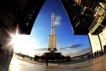 """Avec son lanceur """"Longue Marche"""", la Chine est entrée de plein pied depuis 2003 dans la conquête spatiale avec un programme très ambitieux"""
