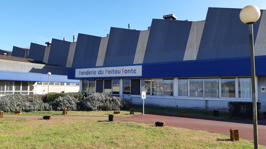 L'ex-fonderie du Poitou fonte à Ingrandes-sur-Vienne
