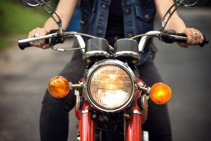 Un voyage à moto