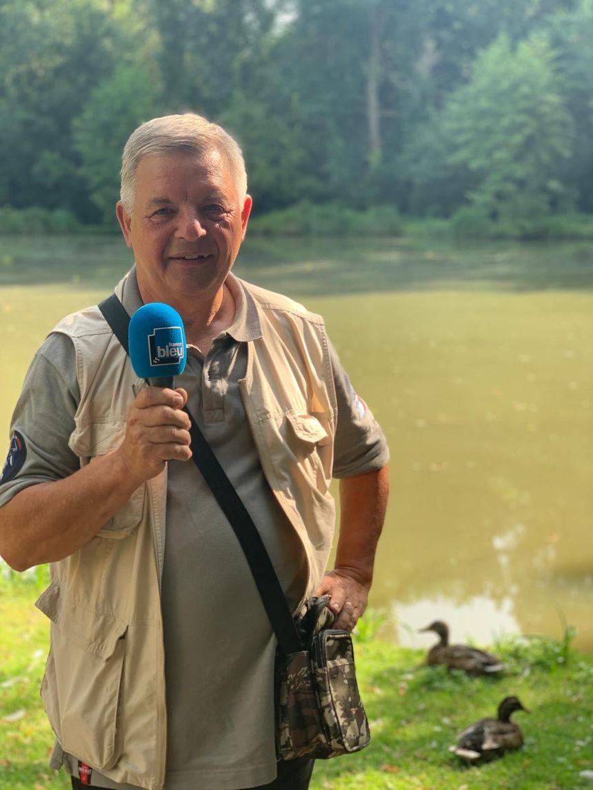 Alain Pol, secrétaire de l'association Les amis de l'hameçon