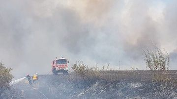 Des pompiers de dix départements sont venus prêter main forte aux soldats du feu eurois