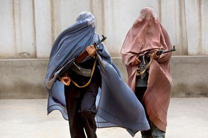Femmes policières en Afghanistan