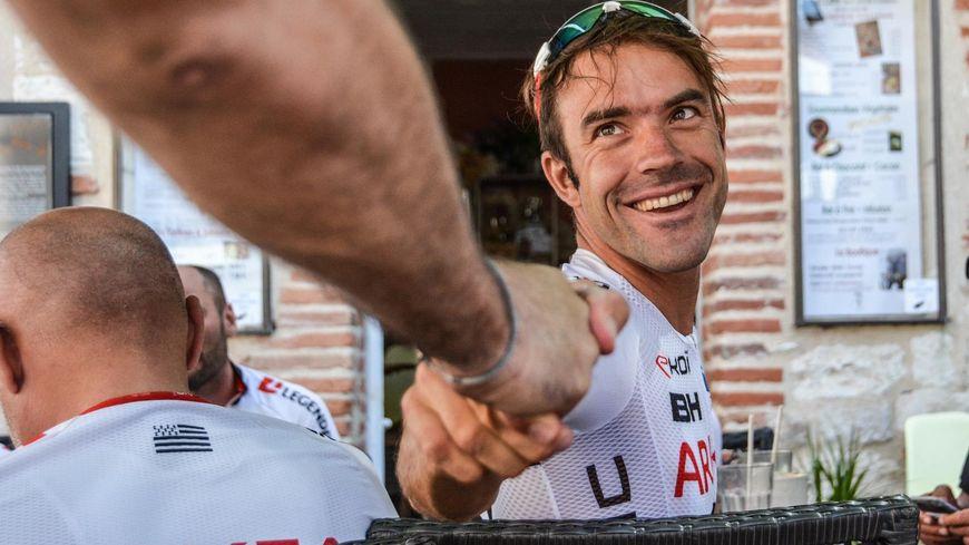 Amael Moinard a couru onze Tours de France.