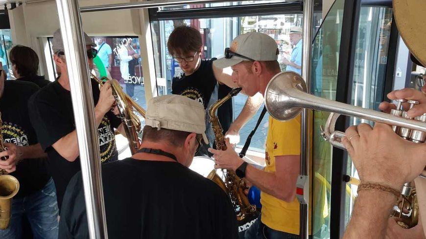 Du jazz partout, même dans les bus de Vannes