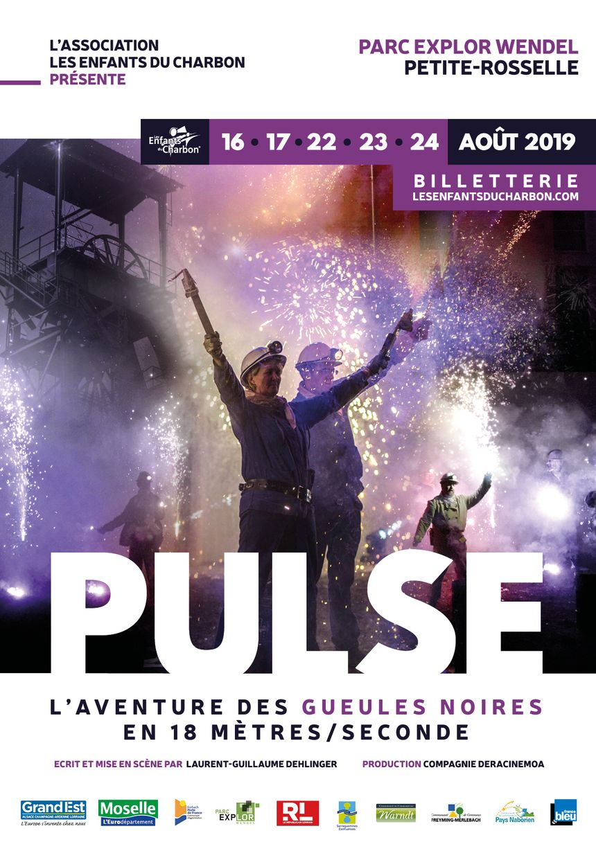 Les 16, 17, 22 23 et 24 août 2019 : PULSE !!