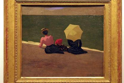 « Sur la plage » de Félix Vallotton, 1899