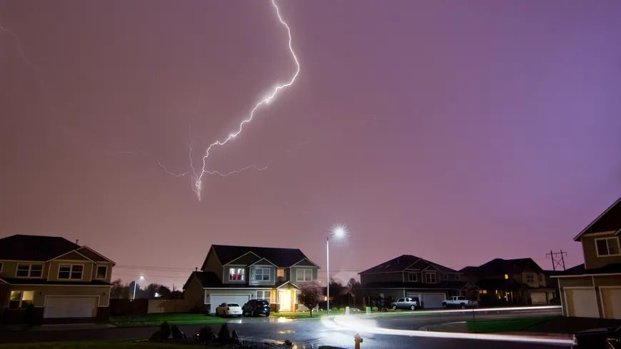 Près de 1.600 foyers ont été privés d'électricité dans le Nord-Isère suite aux orages de samedi soir