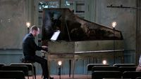 Scarlatti : Sonates au clavecin par Mathieu Dupouy, le 14 juillet 2018 au Château d'Assas (Hérault)