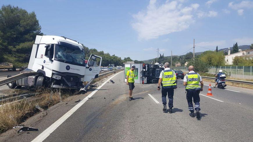 Trois blessés légers dans cet accident sur l'A50