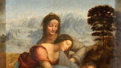 """Léonard en creux : ce que l'on a perdu / """"La Sainte Anne"""""""