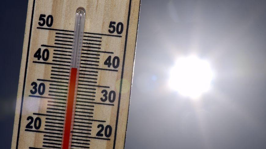 Météo France a enregistré 38.8 °C à Créon d'Armagnac ce 23 juillet 2019
