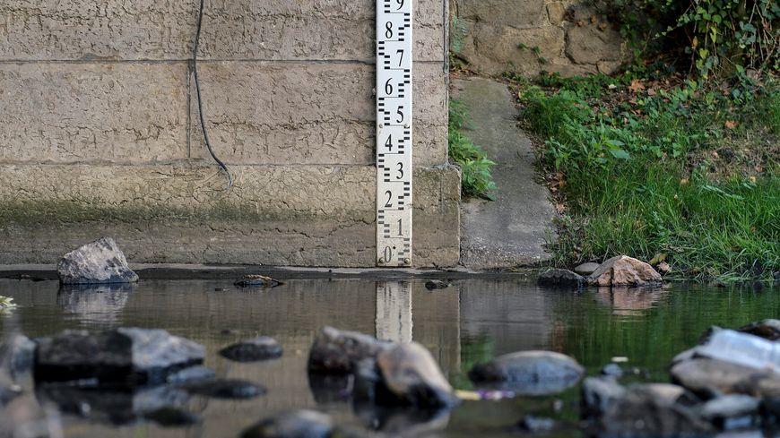 Les niveaux des cours d'eau sont au plus bas