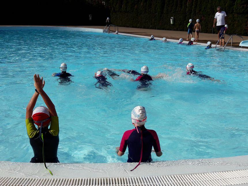 Les exercices dans le bassin