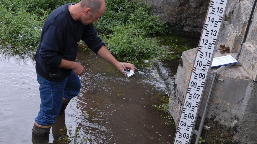 Pour cette mi juillet le niveau de certaines rivières en Corrèze est déjà aussi bas que fin août l'an dernier (photo illustration)