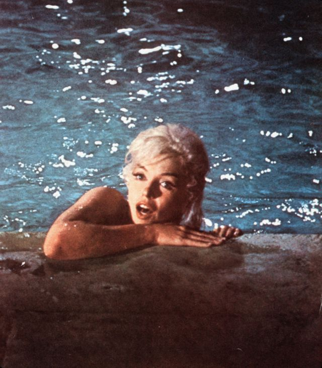 """Marilyn Monroe sur le tournage de """"Something's got to give"""