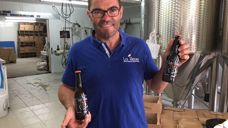 Arnaud Clavurier a brassé cette bière pendant un mois et demi