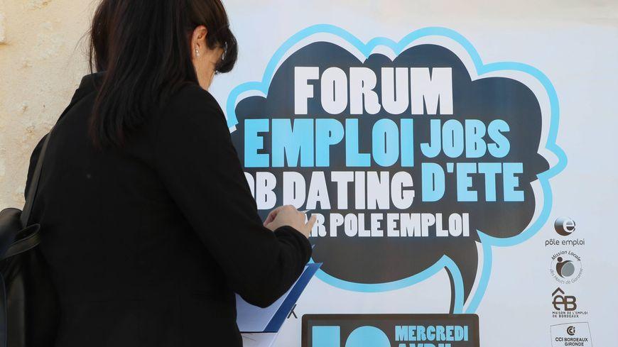 La ville de Bordeaux organisait un Forum emploi et Jobs d'été à l'attention des jeunes, nous étions en 2017.