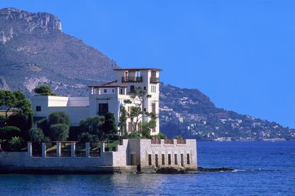 La villa Kérylos à Beaulieu-sur-Mer dans les Alpes-Maritimes