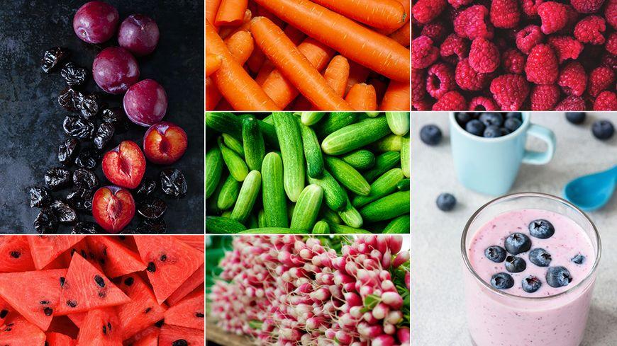 Les fruits et légumes de l'été