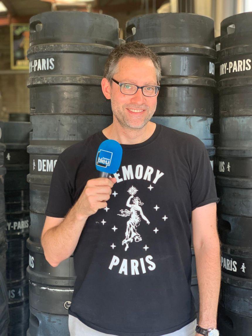 Kai Lorch, responsable de la Brasserie Demory Paris